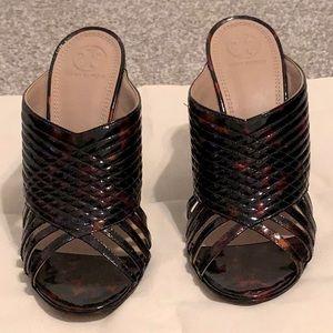 NWOT Tory Burch Brida Open Toe Mule Size 9